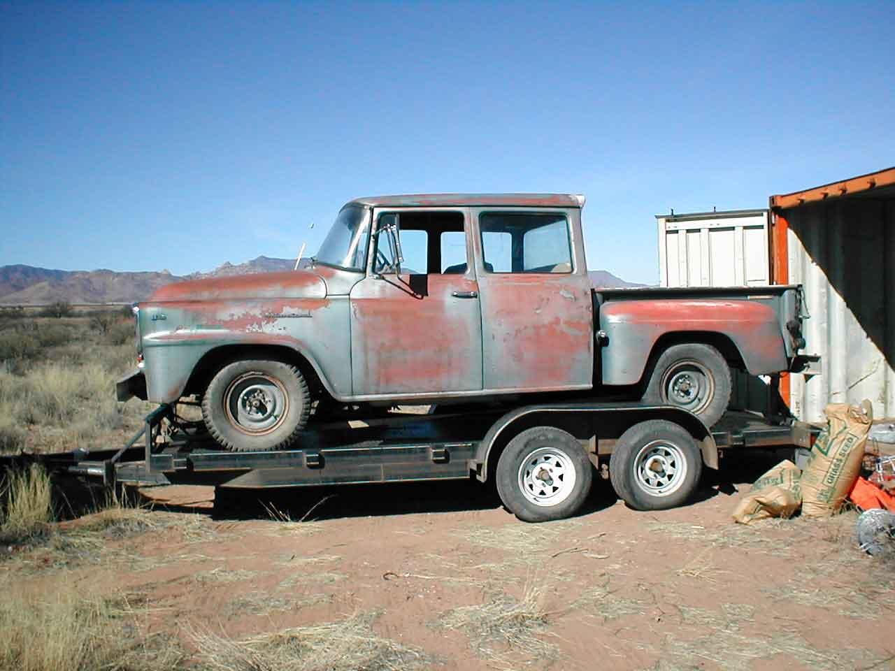 old four door truck for sale autos post. Black Bedroom Furniture Sets. Home Design Ideas